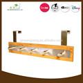 Diseño especial sobre la puerta ganchos de madera para colgar la ropa