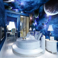 2015 customized 3D wallpaper design in hotel-Mofang, to make your space upscale and attractive
