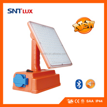 SNTLUX LED Portable Work light with Bluetooth Speaker
