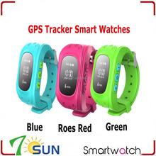 new product Q50 Children Baby Kids Smart Watch Phone GPS Tracker mobile watch phones