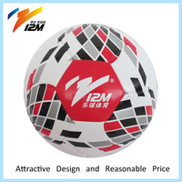 Professional design PU leather match football/soccer ball