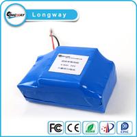 2900mah 3.7v Lithium Ion 12v 18650 battery pack