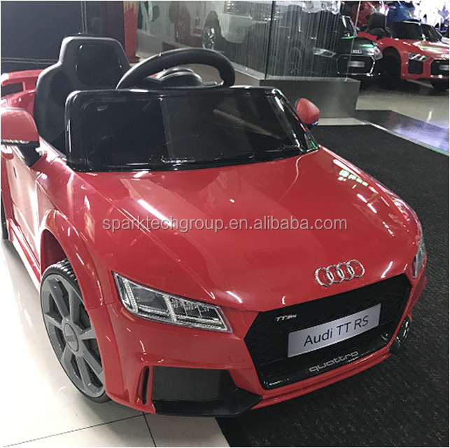 audi licence ttrs voiture enfants 12 v lectrique b b lectrique voiture sous licence. Black Bedroom Furniture Sets. Home Design Ideas