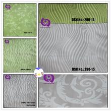 100% Polyester Brocade Jacquard Living Room Curtain Fabric