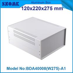Metal project box pcb enclosures electronics case iron szomk enclosure