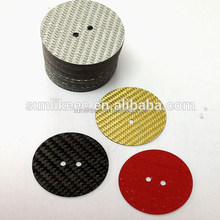 CNC Cutting Red,Black,Silver,Bule,Yellow Carbon Fiber Drag Washer Part