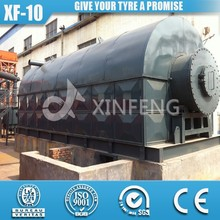 Newest Technology 91 Cooling Area 16mm Reactor Pyrolysis Used Tire