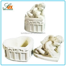 2015 classical fashion angel heart shape boxes wedding table decoration