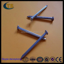 hardened steel nails steel concrete natural long nails CN-73D