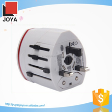 universal travel socket adaptor with safety shutter