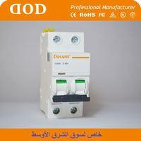 mini circuit breaker nc100h mcb dz47-60