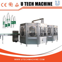 Full automatic plastic bottle 330ml mineral water filling line