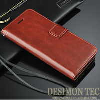 leather flip case for iphone5 wholesale chicken wings prices 2015 custom LOGO