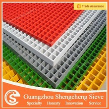 24 years factory powder coated grating/ pvc floor grating
