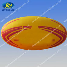 Hot sale Inflatable logo rugby ball model for sale /inflatable advertisements on sales