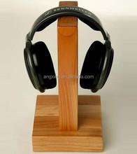 Классический деревянный наушников стенд высокое качество дуб