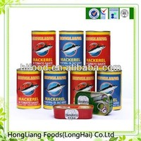 Delicious healthy food china mackerel canned