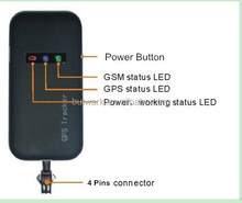 Quad band GPS/ GSM/ GPRS SMS Tracker Real Time GPS Vehicle tracker Mini car gps tracking