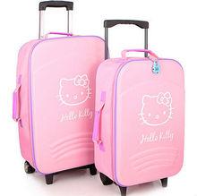 hola lindo gatito 2014 fantasía carretilla carro barato de viaje maleta bolso de la carretilla