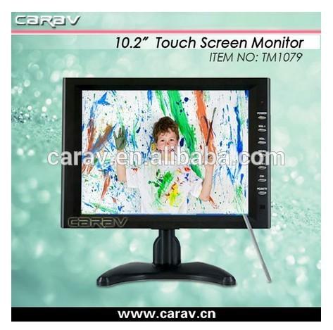 10 pulgadas el monitor táctil 4 pin s- video- cable av( 2 de entrada de vídeo& 2 entrada de audio)