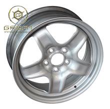 special design of steel car wheel16x6.5J wheel of wire spoke