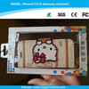 Korea new mobile phone leather case for iPhone 6 hello kitty phone case