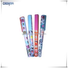 school supplies cheap cartoon printed plastic ballpoint pen