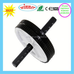 high quality Mens health ab exercise roller fitness ab wheel roller with foot straps