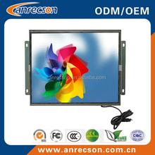 industrial 15 inch vga LCD monitor 1024*768 open frame /kiosk/wall