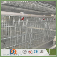 Alibaba Automatic Welded Wire Mesh Domestic Bird Cage with Full Accessories