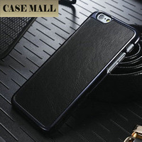 Crazy Horse Leather Phone Cover Case Back Shell For iPhone 6 4.7inch