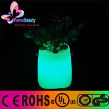 fashion 3D lighting mini led pot speaker light with bluetooth