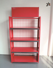 Wide selection car supplies metal mesh shelf