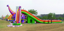 Good inflatable slide and slip / customized Inflatable slides
