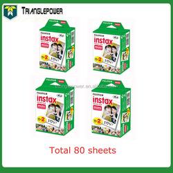 Fujifilm Instax Mini Film Instant Twin Pack White Film for Mini 7s / 8 / 25 / 50s / 90 Camera