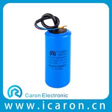 cbb60 10uf 250v capacitor ac motor run plastic metalized polypropylene film