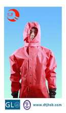 Solas approved CCS gas tight anti chemical protective suit