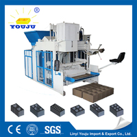 producing all different bricks with different moulds easy-maintance chinese two-stage large powder compressing machine