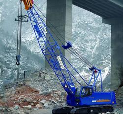 High popularity mobile telescopic crawler crane manufacturer from crane origin 55 ton QUY55