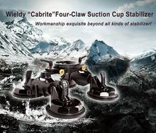 Wieldy Newly Upgrated Four Claw Suction Cup/wieldy Stabilizer Support with Ball Head