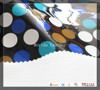 MRD21048 washable dot pattern mirror vinyl leather textile fabric artificial leather