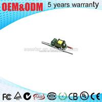 1w 2w 3w 5w 6w 7w 300ma 350ma 700ma 900ma internal dimmable high power led driver circuit with CE SAA ROHS TUL