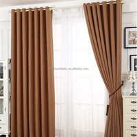 china supplier flame retardant blackout window curtains