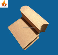 55% Al2O3 Mullite refractory fire brick exported to Russia