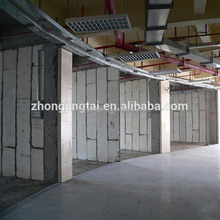 acoustic soundproof tempered office partition eps modular interior walls