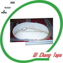 15mm pearl white liner centre glue double sided hot melt glue adhesive tape to seal envelops, expess /confidential /postal bags