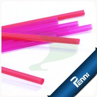 Food Grade PP Plastic Purple Drinking Straw