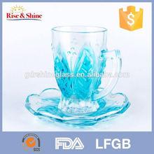 cam çay bardak ve tabak toptan popüler plastik daha çay bardak ve tabaklar toplu