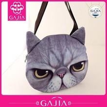 2015 3D Cat Bag Handbag For Woman Vivid Cat Handbag For Girls