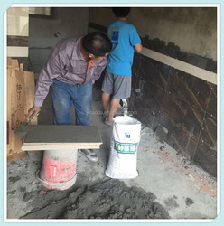 tile adhensive No need for brick immersion, quick construction.dry powder adhesive